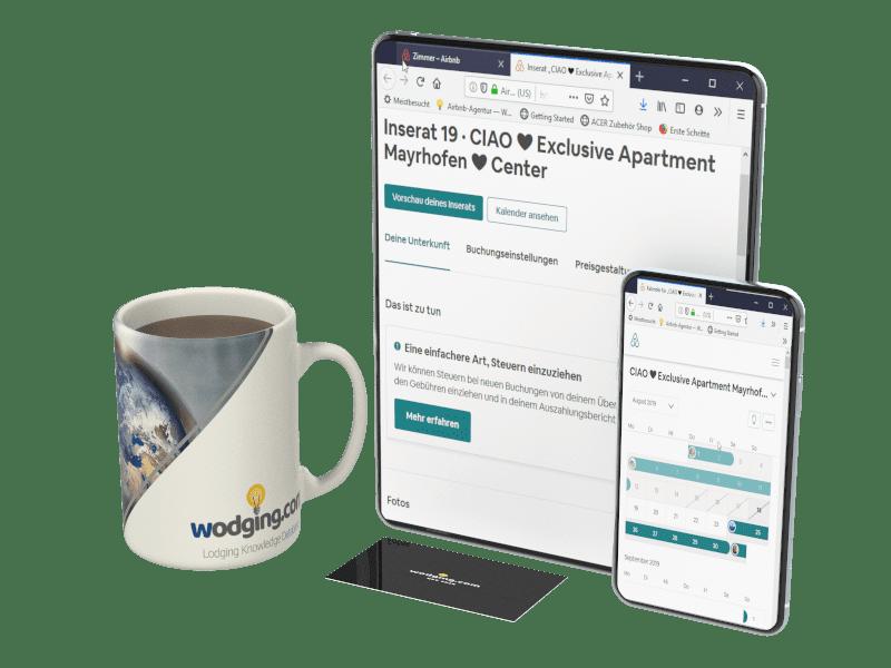Die Airbnb Gastgeber-Agentur wodging.com unterstützt Vermieter dabei, ihre Auslastung langfristig zu erhöhen und Gäste zu begeistern