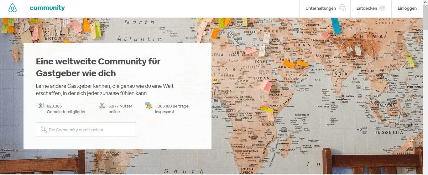 Airbnb Gastgeber Community