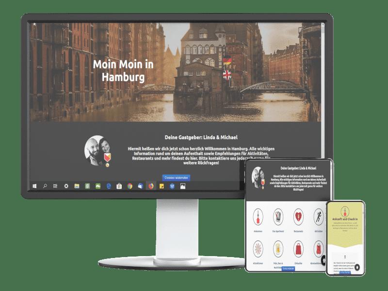 Digitale Gästemappe für Airbnb und Kleinvermieter