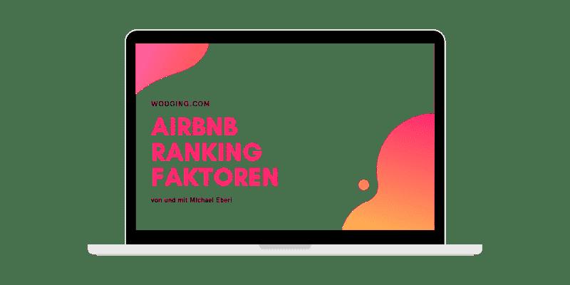 Airbnb Ranking Faktoren verbessern