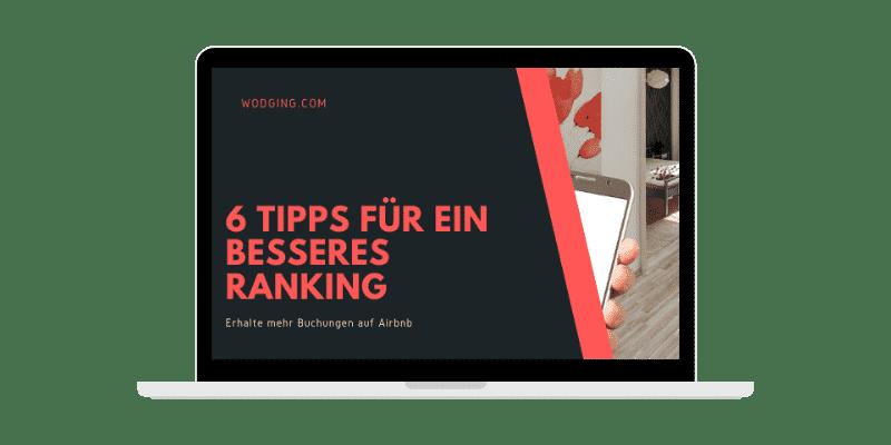 6 Tipps für ein besseres Airbnb Ranking